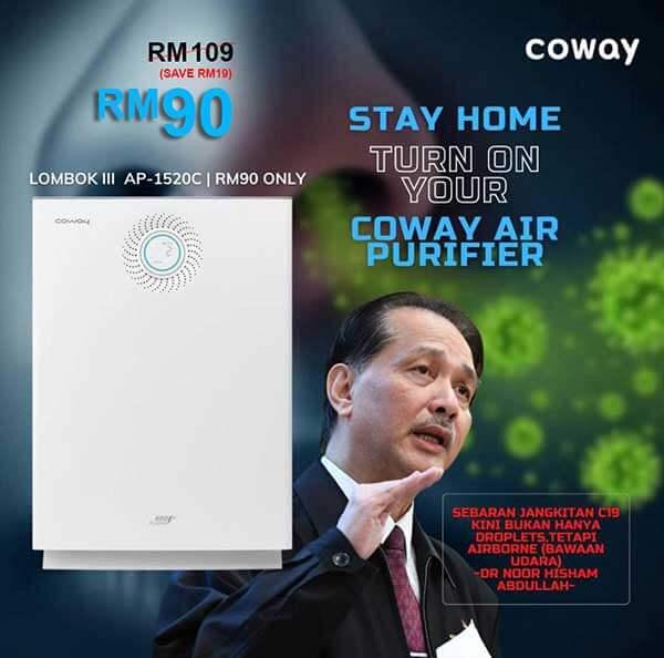 Promo Penapis Udara Lombok 3